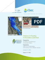 2014 Solutions to Flooding on Pescadero Road
