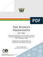 Budget 2017 Highlights