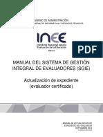Manual Evaluador 2016SGIE