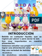 Introducción de Bebidas