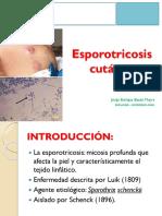 Clase Esporotricosis Cutanea