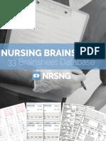 OTM 1.04 Nursing Brainsheet Database - NRSNG.com