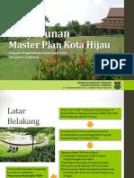 Penyusunan Master Plan Kota Hijau Tangerang