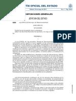 Ley 9/2014 de 9 de Mayo de Telecomunicaciones España BOE Núm. 114