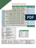 Calendarización 2017 Aprobado- Secundaria