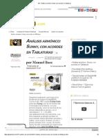 GB - Análisis Armónico_ Sunny, Con Acordes en Tablaturas