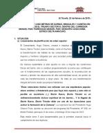 Proyecto Aceras 2015 Triunfo III