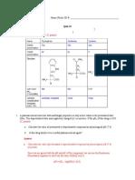 CHEM 151 (Quiz 1 (Make-up); Key)(1)