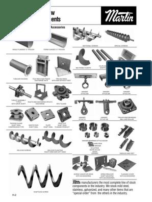screw-conveyors pdf | Cement | Calcium