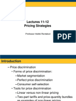 Pricing Strategies - Handout