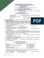 SOAL Ujian Sekolah Administrasi Perkantoran