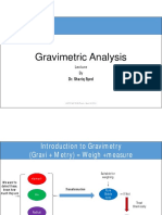 Gravimetric Analysis 1