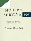 Modern Survival - D.Schuh 1979