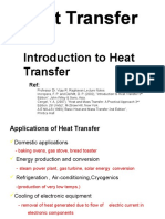 Chapter 1- Introduction to Heat Transfer