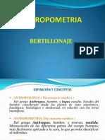 Antropometria Media Fil y Rh