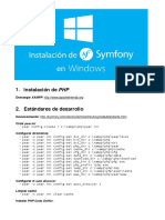 Installing Symfony2 Windows