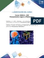 b. Presentacion Del Curso