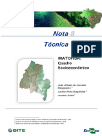 NT8 Quadro SocioEconomico Matopiba