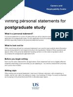 Personal Statement for Postgraduate Study.pdf