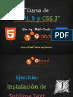 Curso HTML5 - Ejercicio 01