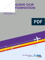 Flybe Group Plc Annual Report FY 2015