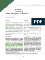 Bases neuropsicológicas del desarrollo cognoscitivo entre el nacimiento y los 12 años