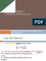 Clase 2. Equilibrio Líquido-Vapor M 1