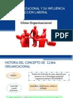 Clima Organizacional y Su Influencia en La Satisfaccion