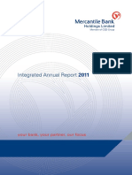 Mercantile Bank Holdings Limited Integrated Annual Report 2011