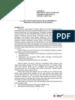 LAMPIRAN Peraturan Fakultas Tentang Kurikulum Dan Penyelenggaraan Pendidikan Baru