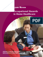 Occupational Hazards in Home Healthcare