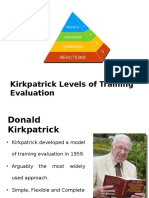 soft skills training evaluation