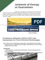 DOE Loan Guarantee
