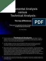 Fundamental Analysis Versus Technical Analysis