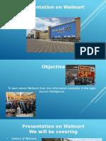 Final Presentation on Wallmart