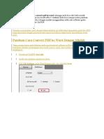 Ingin tahu bagaimana cara convert pdf ke word sehingga anda bisa edit lebih mudah dokumen tersebut di aplikasi microsoft office.docx