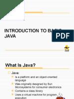 Basic Java