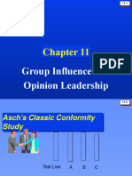 Opinion Leadership and Reference Groups