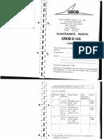 Grob 103 Maintenance Manual