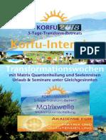 Korfu Urlaub Seminar