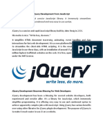 Customized jQuery Development Company In India