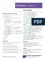 Bootstrap Css Classes Desk Reference Bc