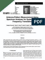Pattern Measure Spectrum