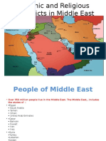 Ethnic and Religious Conflicts in Middle East