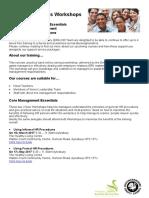 Human Resources Workshops