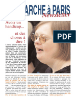 Newsletter N°15 - Juin 2008
