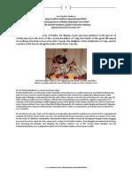 Dr. Fakir Mohan das Maharaja and the reappearance of Dutta Chaudhury family ancestral deity.