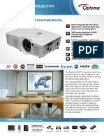Optoma W316ST 3D Ready Short Throw Business DLP Projector
