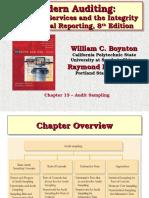 Ch13 Audit Sampling