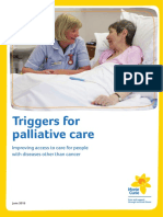 Triggers for Palliative Care Full Report